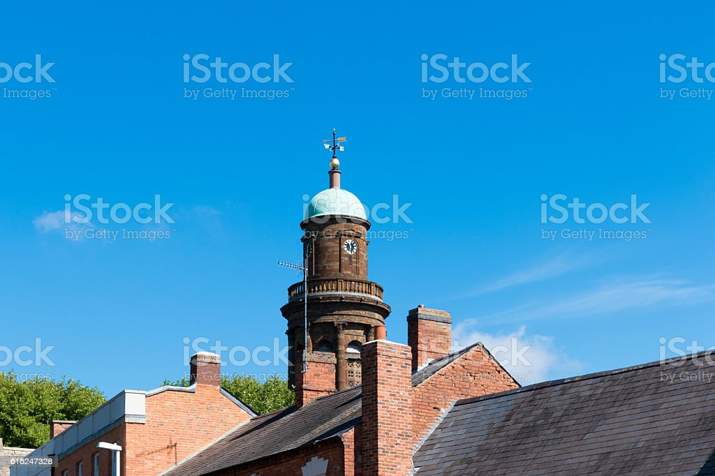 Parish Church of St. Mary the Virgin stock photo