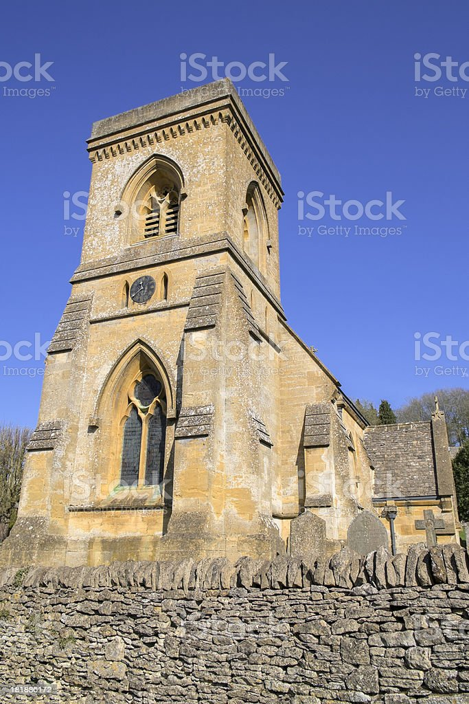parish church royalty-free stock photo