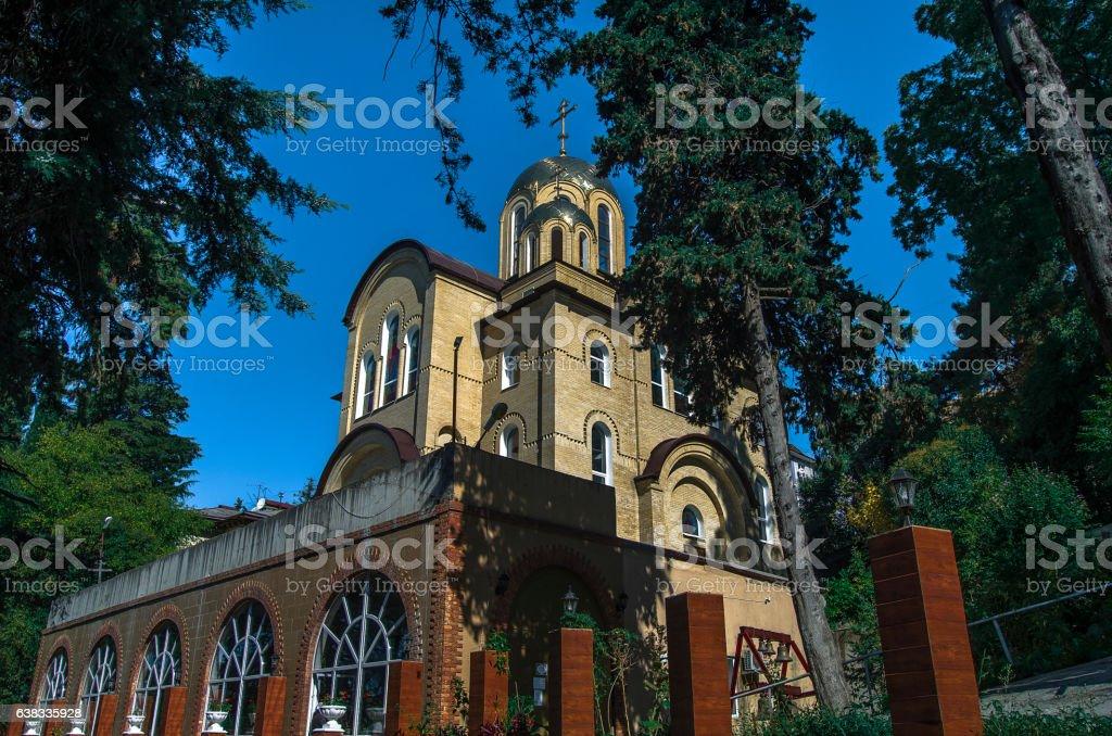 Parishes of Orthodox Church stock photo
