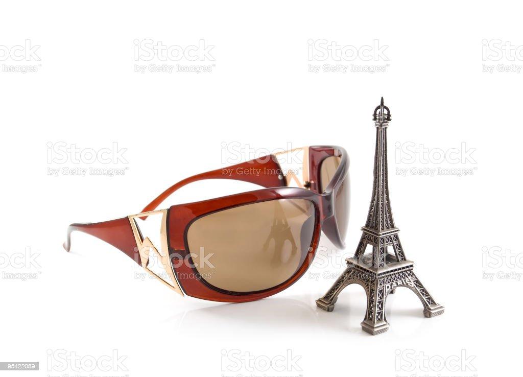 Parisian fashion concept royalty-free stock photo
