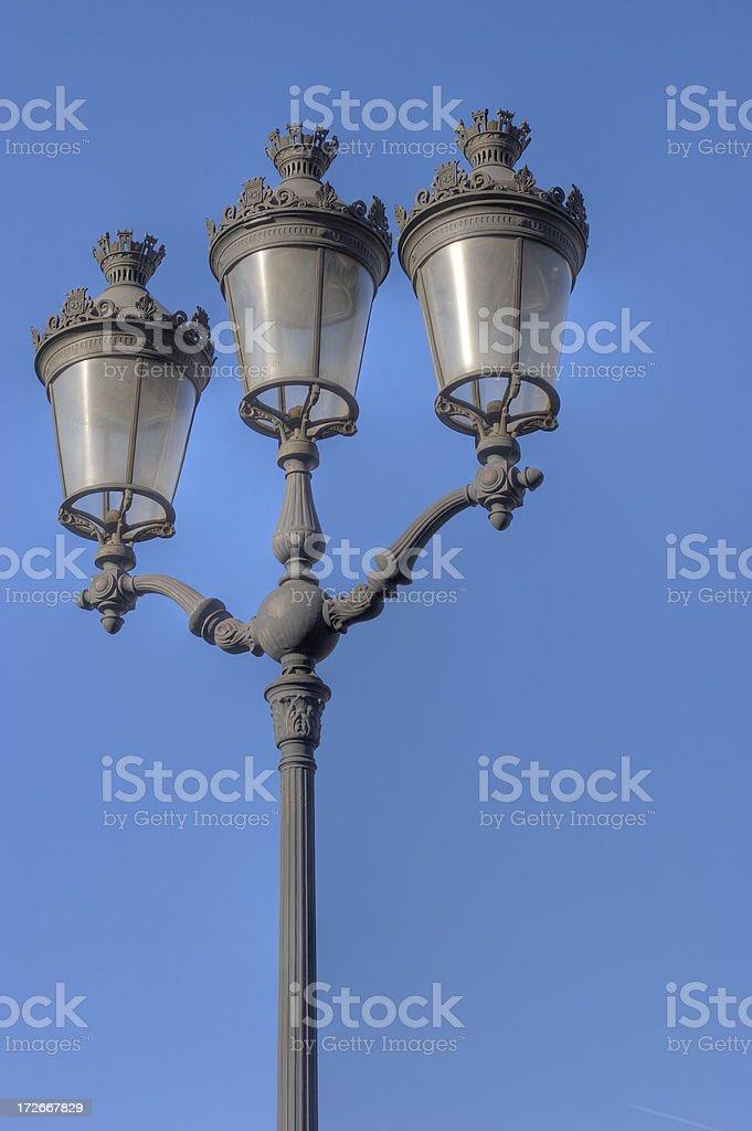Parisian Streetlights royalty-free stock photo