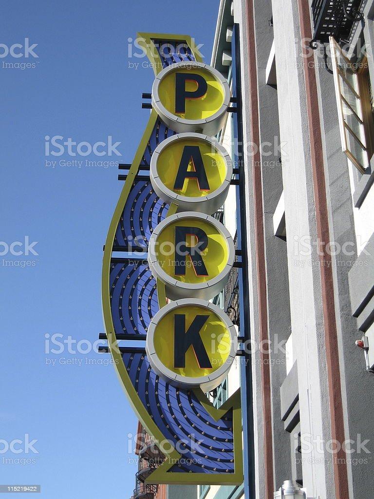Park Arrow royalty-free stock photo