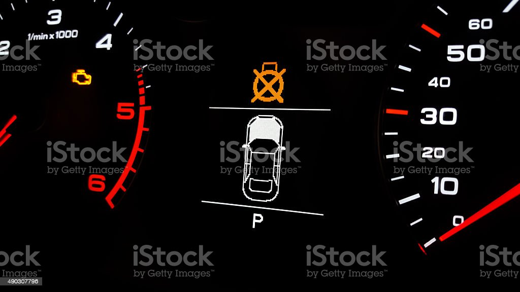Park Assist stock photo