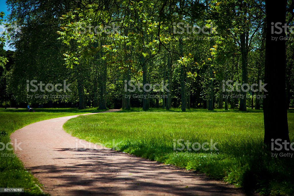 Park at France royalty-free stock photo
