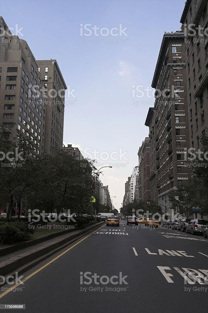 Park Ave New York stock photo