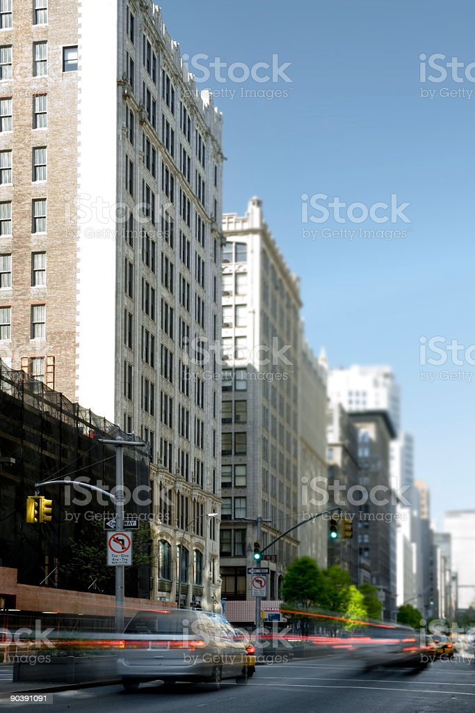 Park Ave South royalty-free stock photo