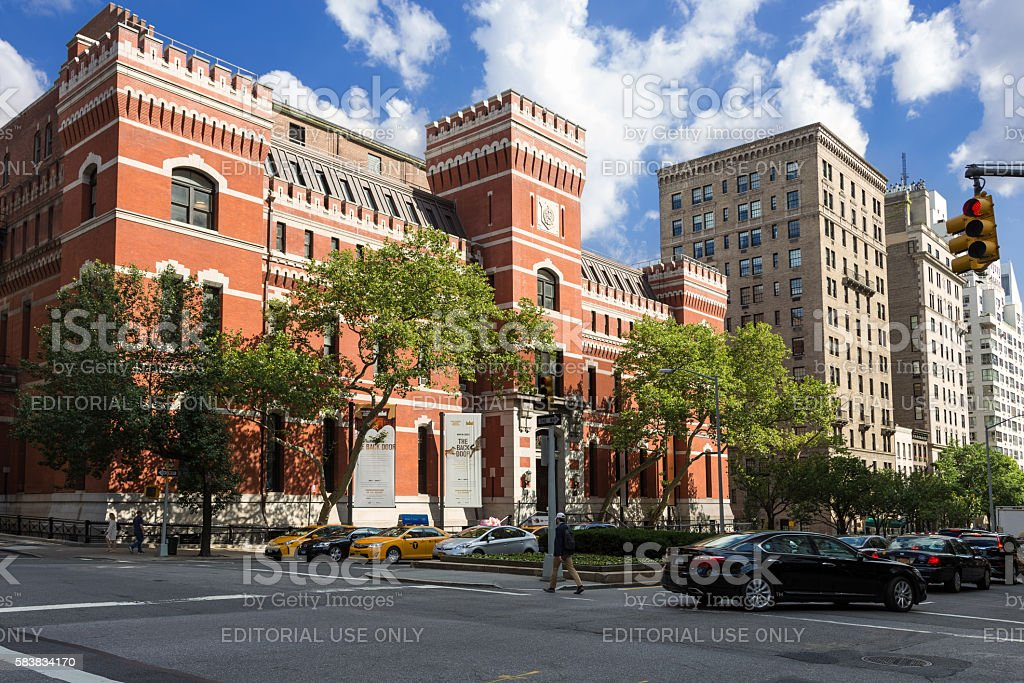 Park Avenue Armory, Manhattan Upper East Side, New York. stock photo