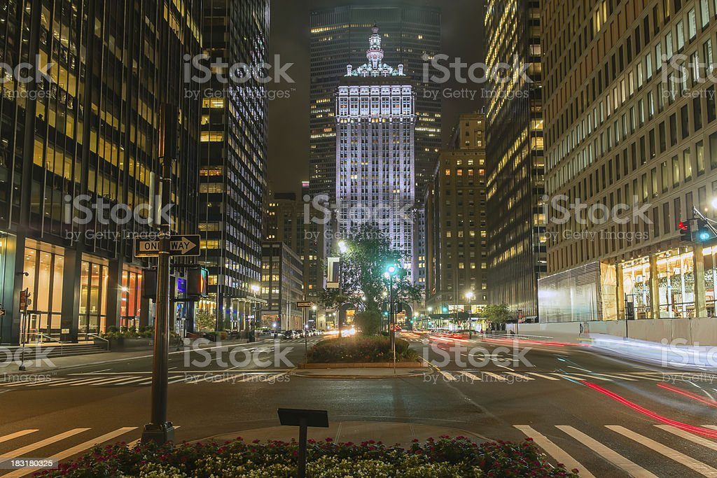 Park Avenue Manhattan royalty-free stock photo