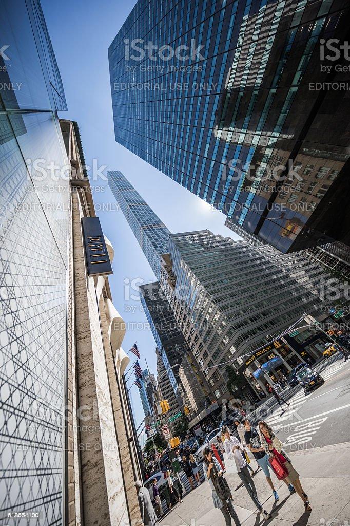 432 Park Avenue, Manhatten, New York City, United States stock photo