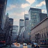 Park Avenue, New York, USA