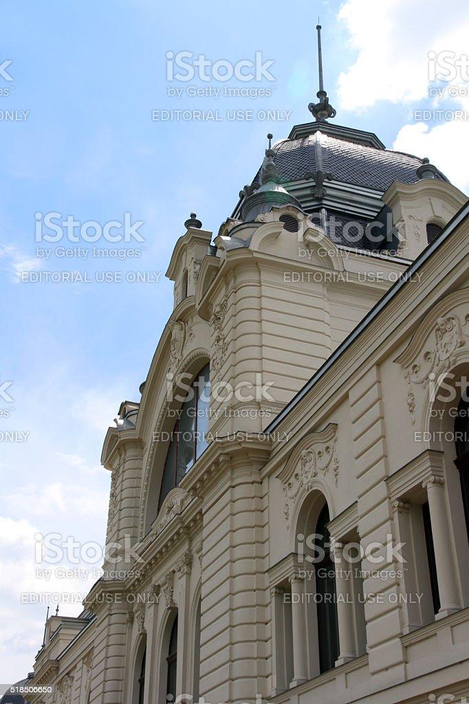 Park Building stock photo