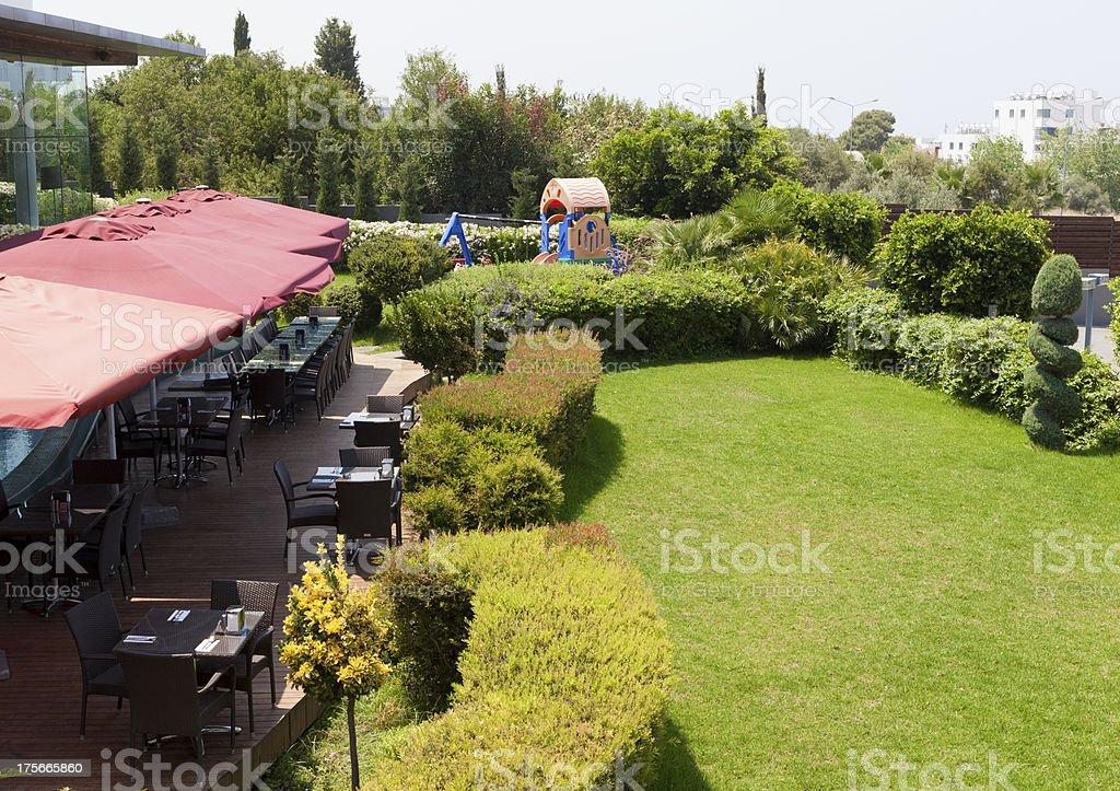 Park cafe royalty-free stock photo