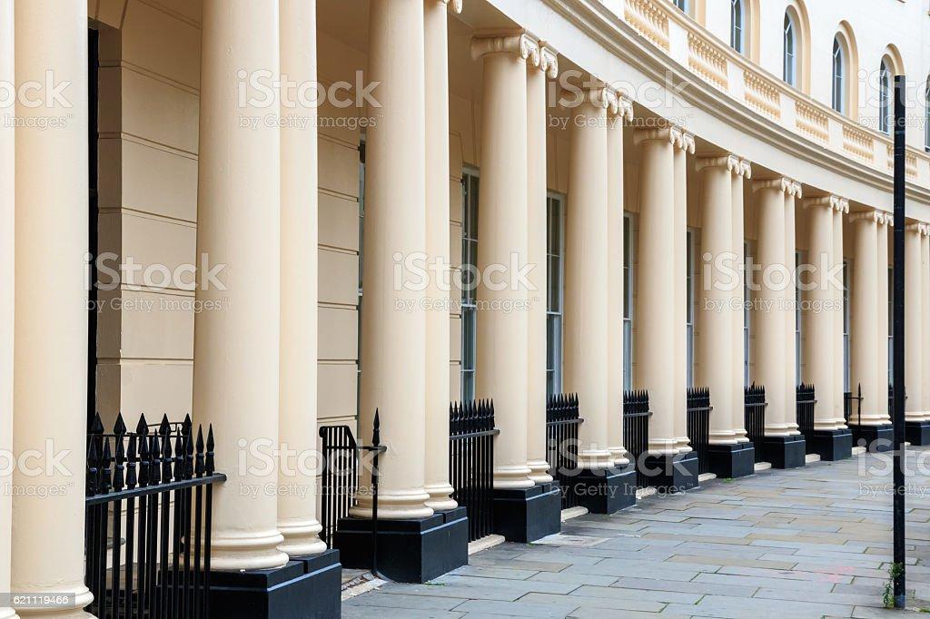 Park Crescent, London stock photo