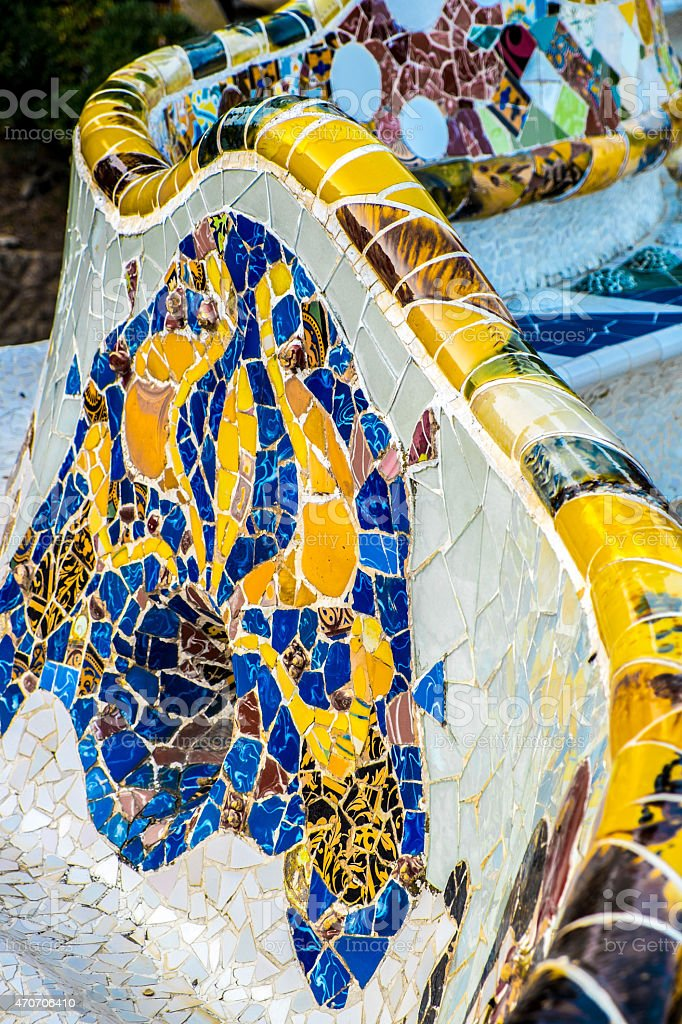 Park Guell royalty-free stock photo