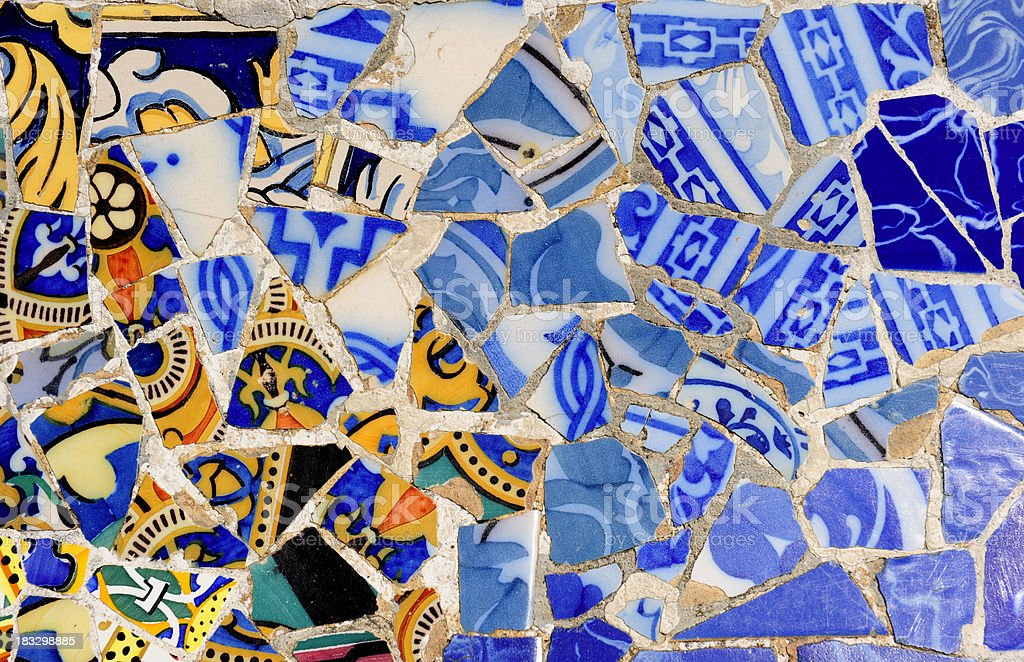 Park Guell,Barcelona royalty-free stock photo