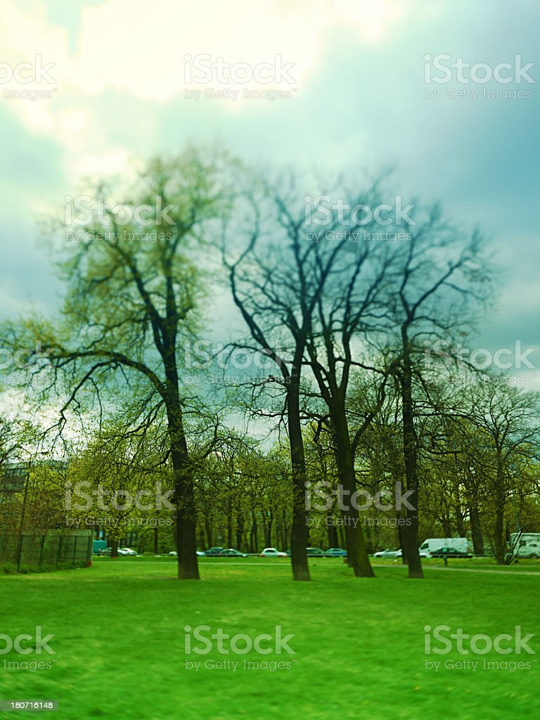 Park in Berlin royalty-free stock photo