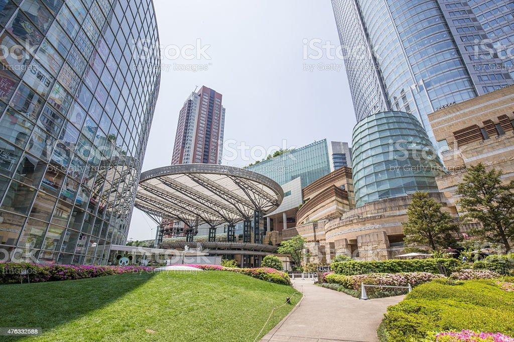 Park in central Tokyo stock photo