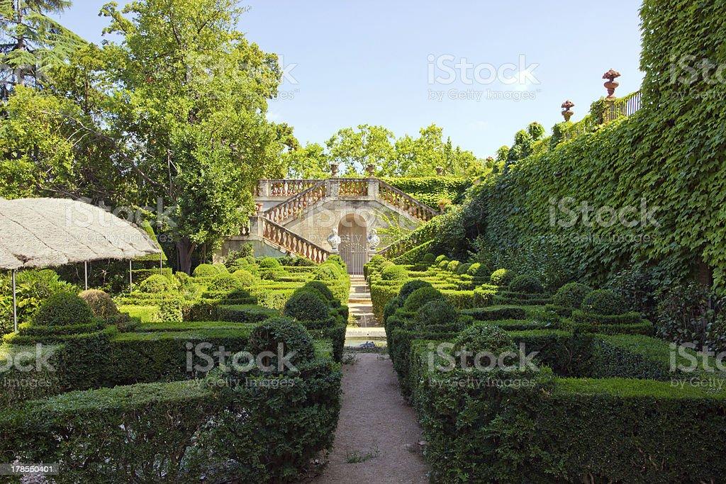 Park Labyrinth beautiful stock photo
