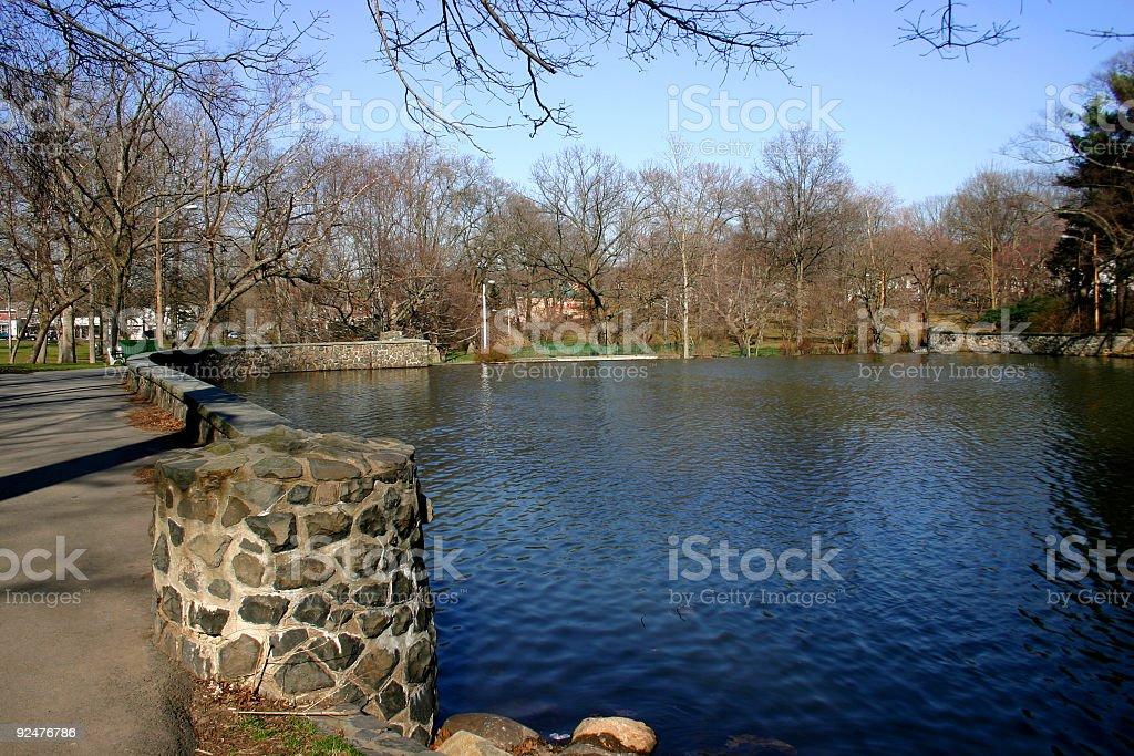 Park & Lake 3 royalty-free stock photo