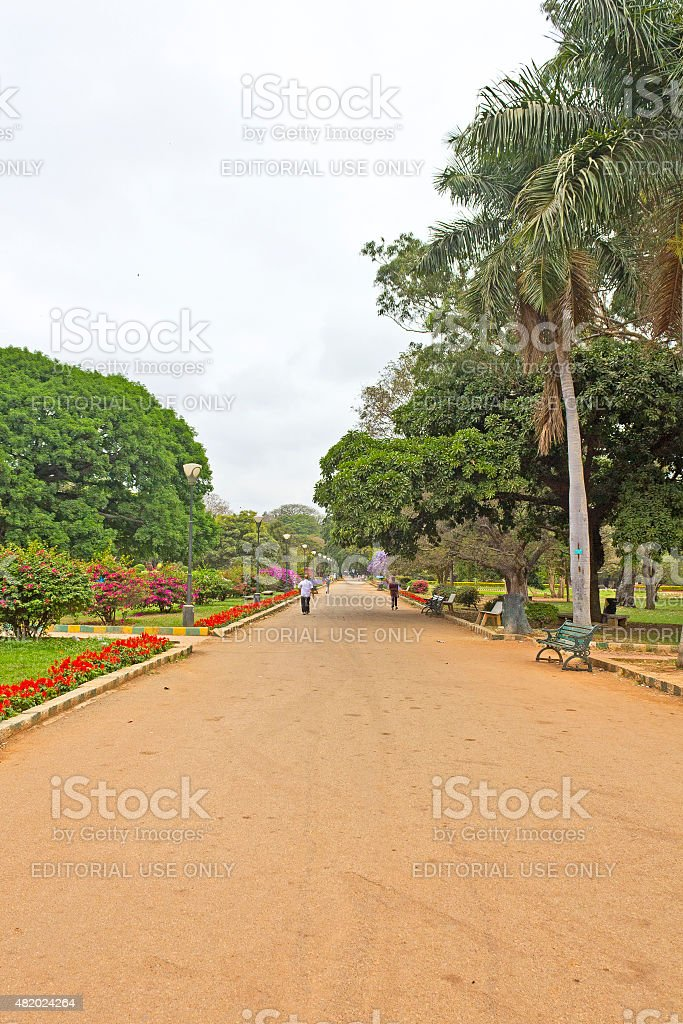 Park Lal Bagh stock photo