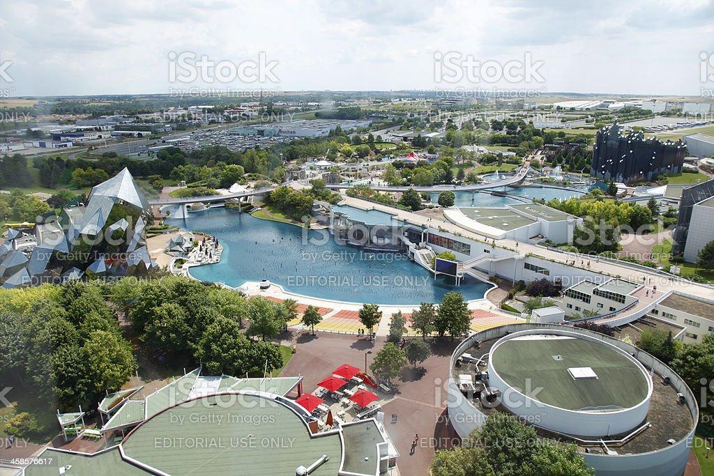 Park of Futuroscope stock photo