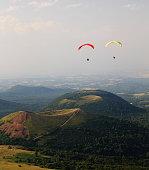 Park of vulcain in Auvergne - France