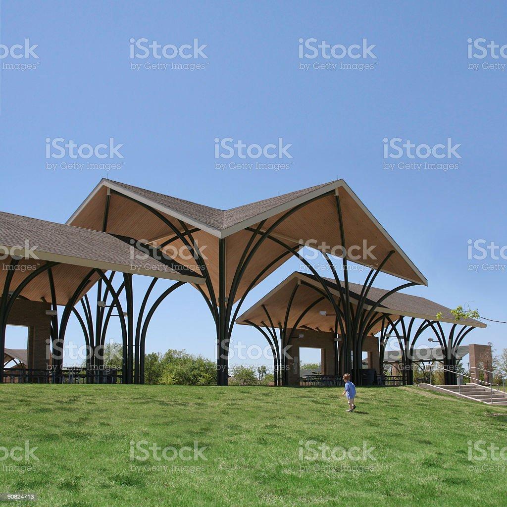 Park Pavilion royalty-free stock photo