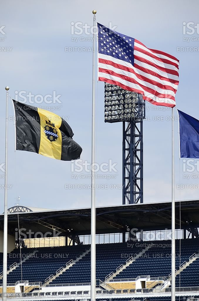 PNC Park, Pittsburgh royalty-free stock photo