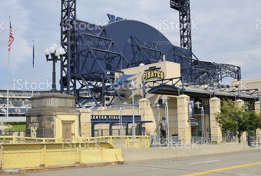 PNC Park, Pittsburgh Pirates royalty-free stock photo