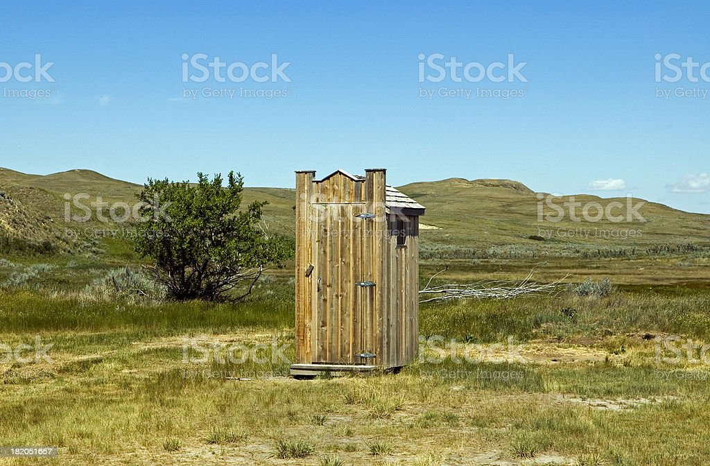 Park Potty stock photo