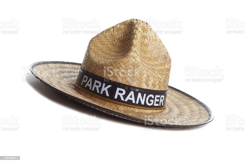 Park Ranger hat stock photo
