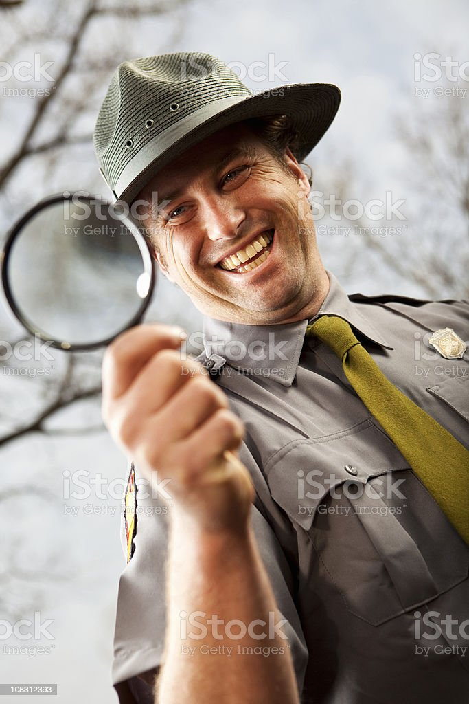 Park Ranger stock photo