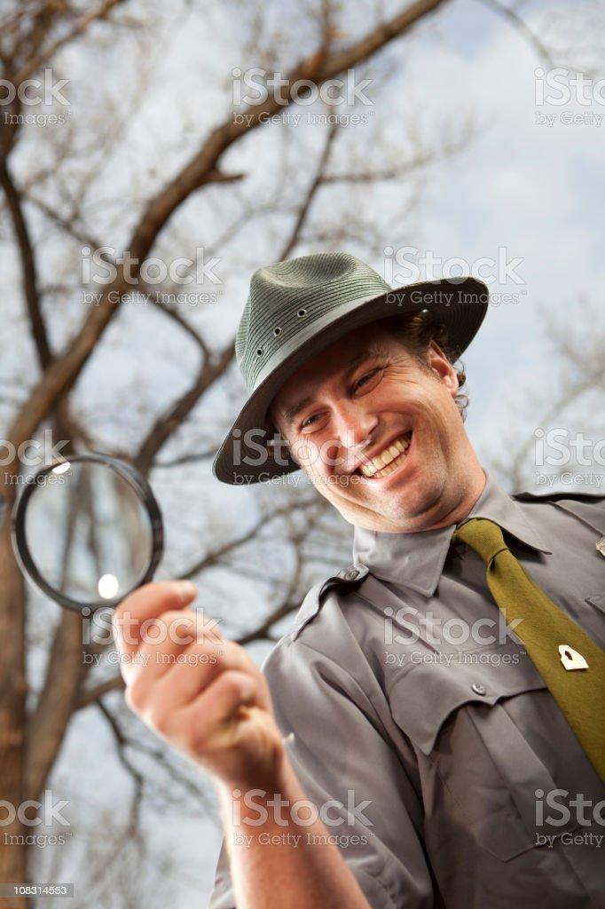 Park Ranger royalty-free stock photo