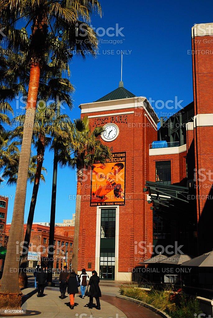 AT&T Park, San Francisco stock photo