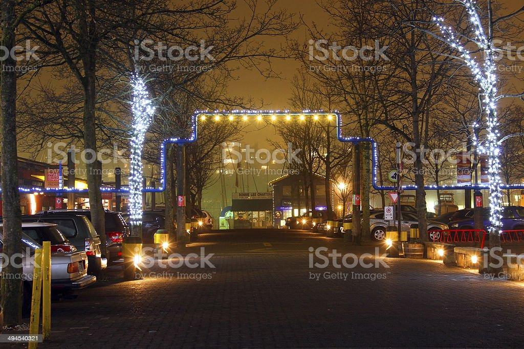 Parkade royalty-free stock photo