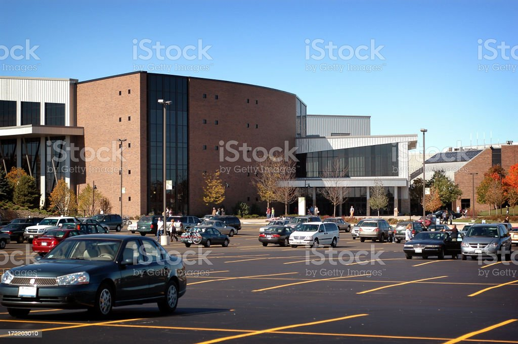 Parked Vehicles royalty-free stock photo