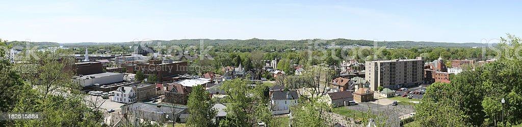 Parkersburg Panorama stock photo