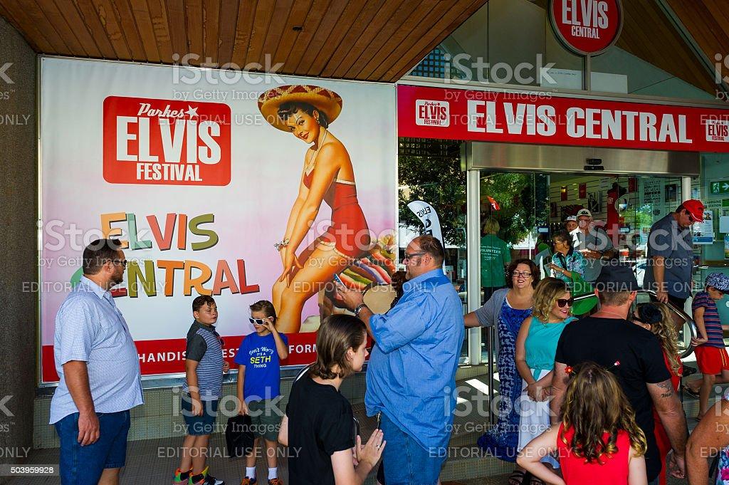 Parkes Elvis Festival 2016 stock photo