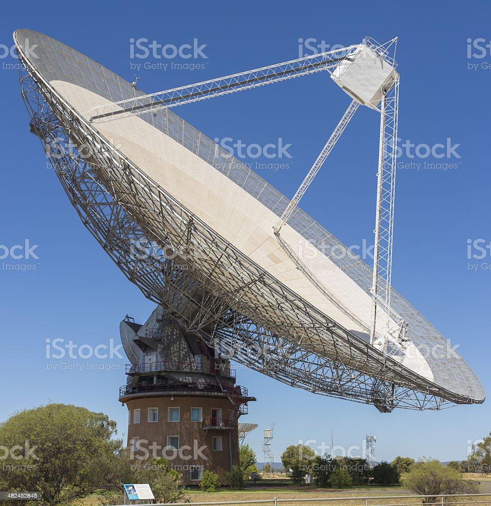 Parkes Radio Telescope stock photo