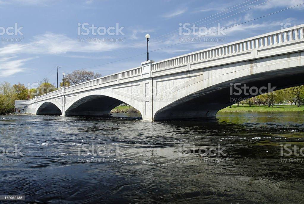 Parkhill Bridge royalty-free stock photo