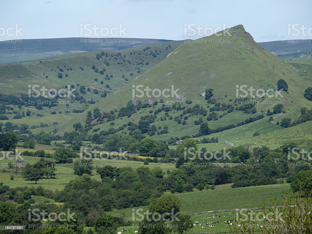 Parkhouse hill royalty-free stock photo