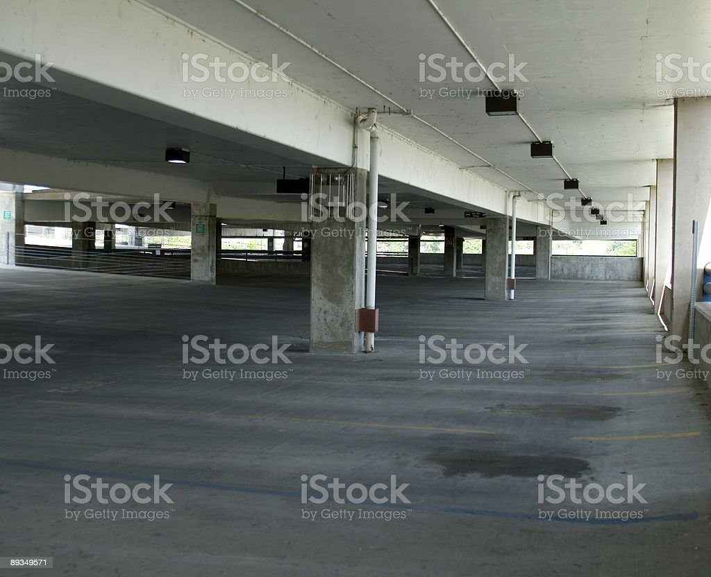 Parking Garage 1 royalty-free stock photo