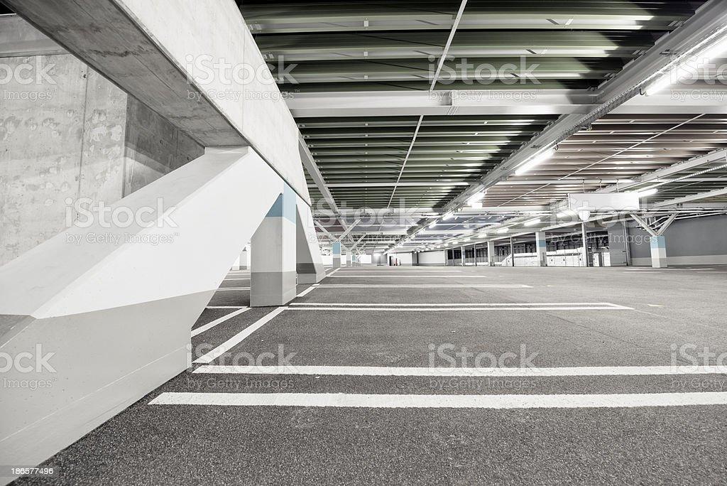 Parking Garage royalty-free stock photo