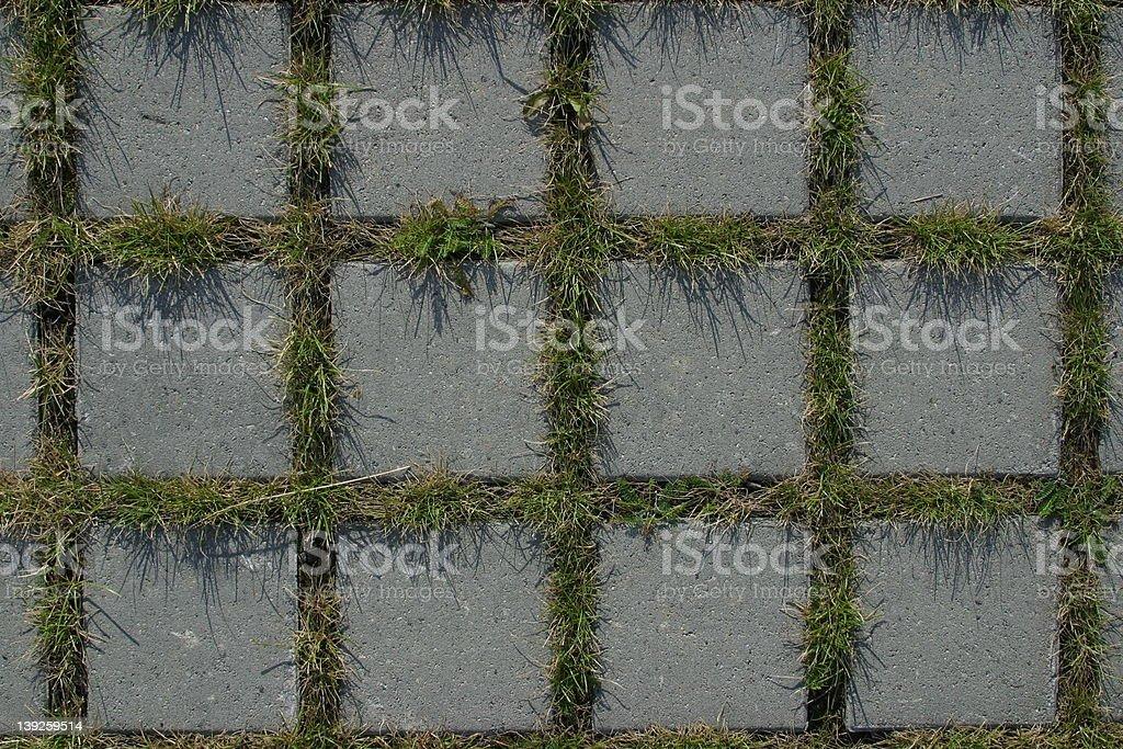 Parking lot floor royalty-free stock photo