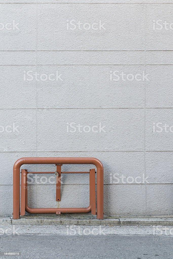 Parking Lot wall stock photo