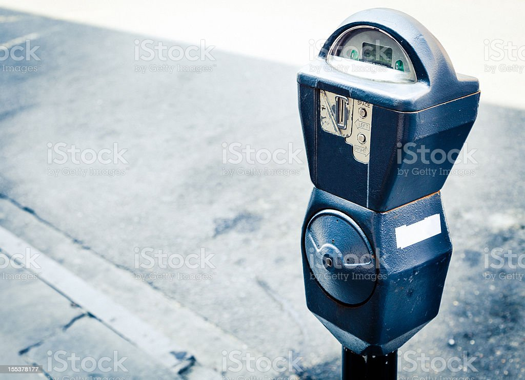 Parking Meter, New Orleans stock photo