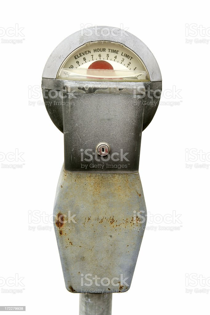 Parking Meter royalty-free stock photo