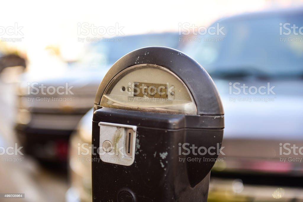 Parking Meter stock photo