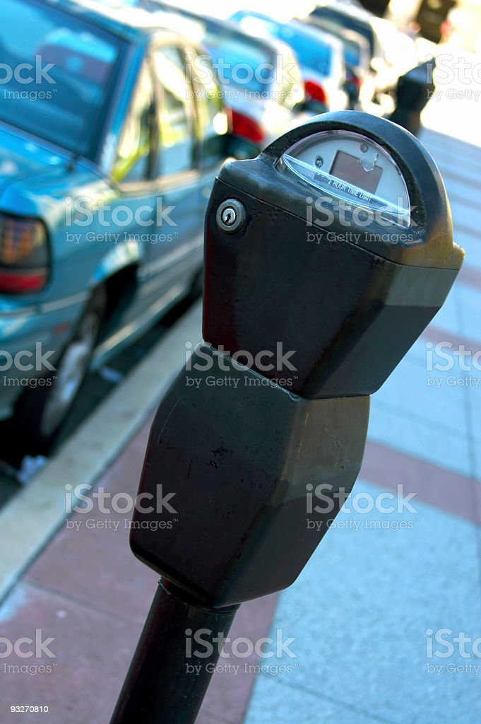 Parking Meter #1 royalty-free stock photo