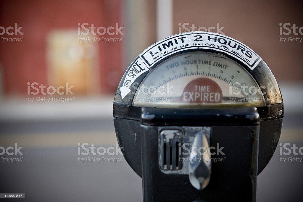 Parking Meter Urban royalty-free stock photo
